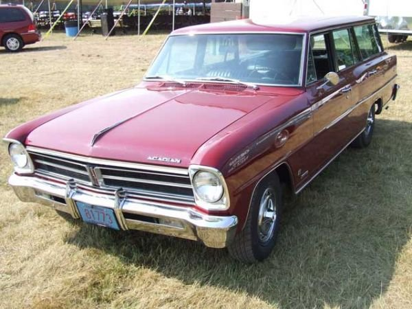 209: 1966 Chevrolet Acadian Station Wagon