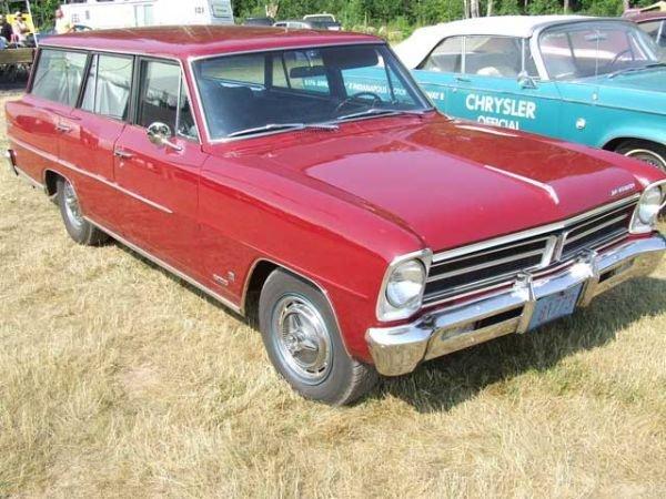 209: 1966 Chevrolet Acadian Station Wagon - 2