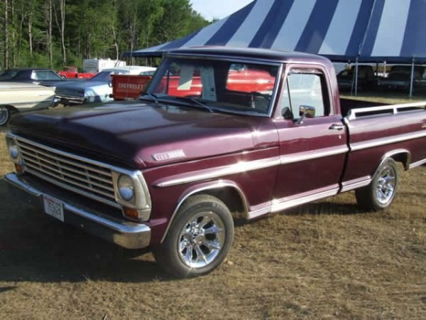 224: 1967 Ford PickUp