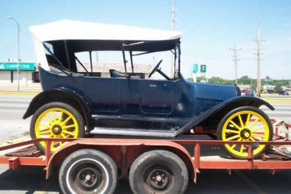 228: 1916 Chevrolet Touring Car Convertible