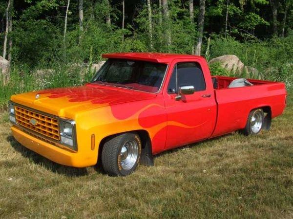 284: 1980 Chevrolet Pick Up