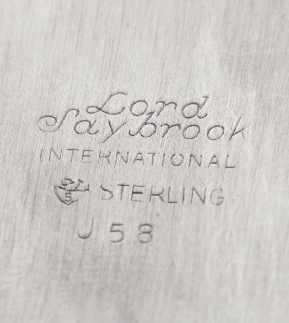 International Sterling Silver Vegetable Tray - 3