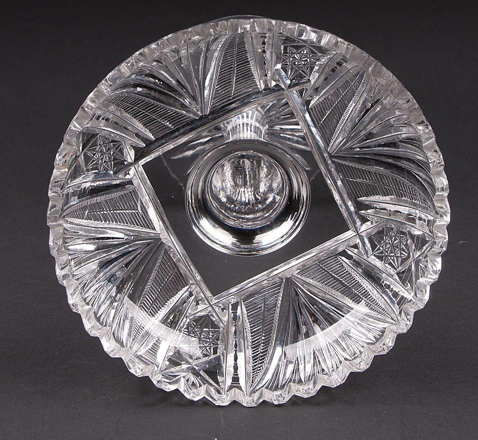 American Brilliant Glass Compote, T.B. Clark - 4