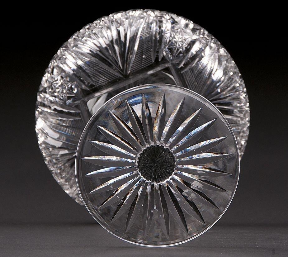 American Brilliant Glass Compote, T.B. Clark - 5