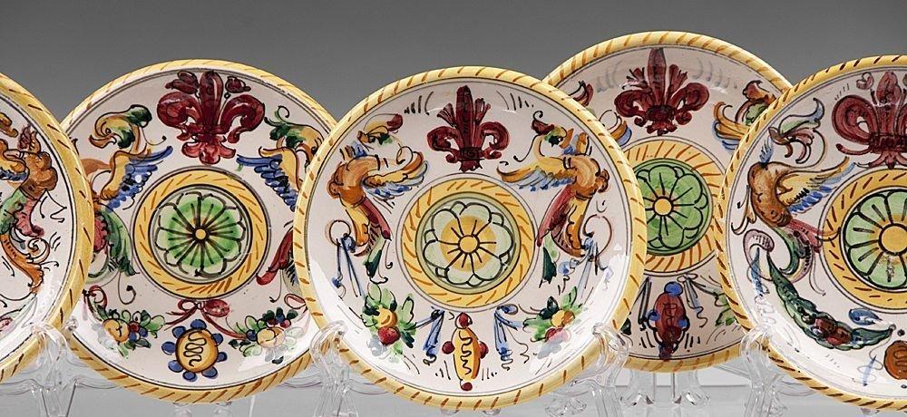 Set Of 6 Raffaellesco Fratelli Cups & Saucers - 2