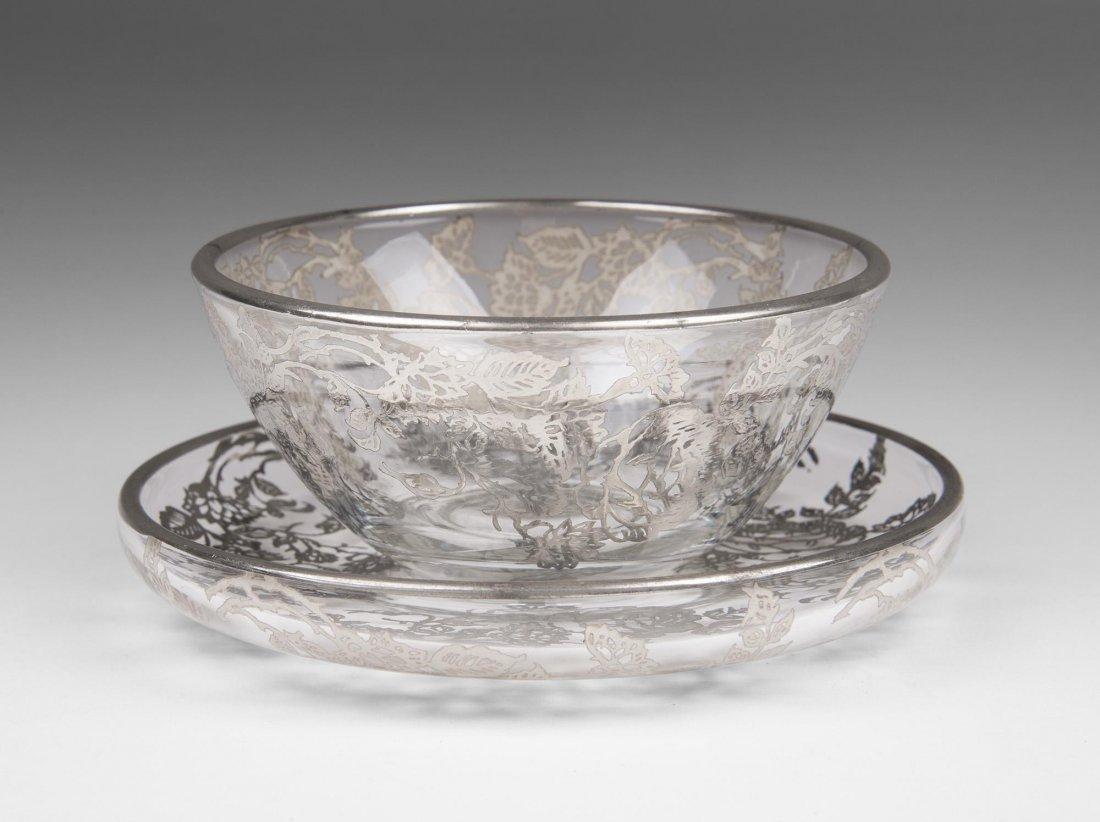 Cambridge Silver Deposit Bowl & Saucer - 2