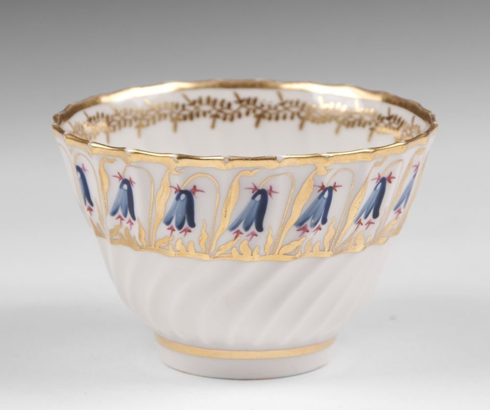 18th C. Derby, Duesbury Period, Soft Cup & Saucer - 3