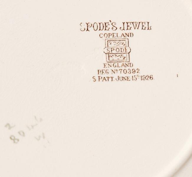 Set of 11 Luncheon Plates, Copeland Spode - 3