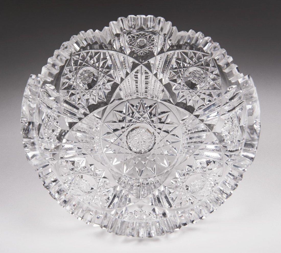 Brilliant Cut Glass Bowl - 2