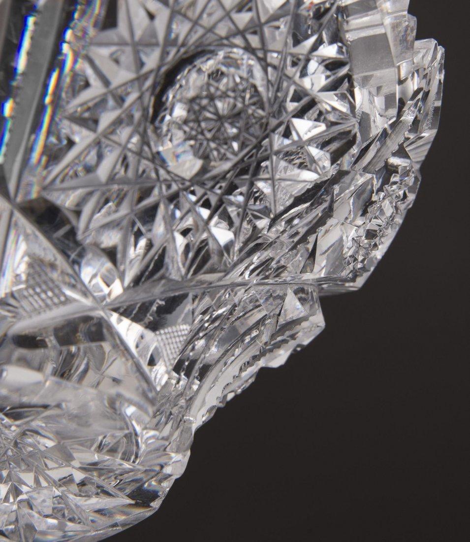 Brilliant Cut Glass Bowl - 4