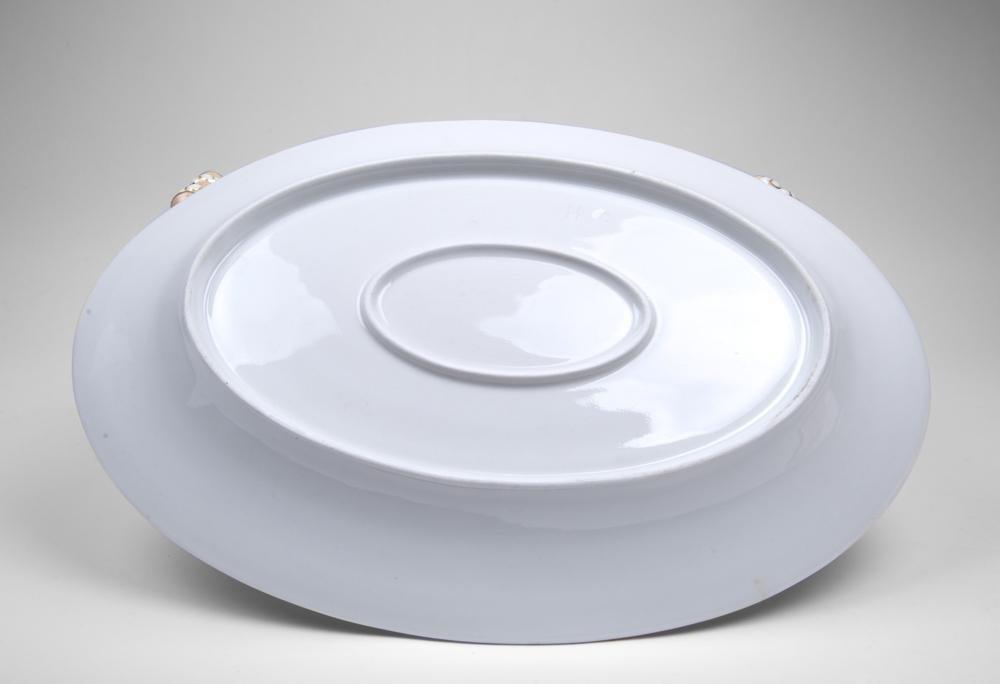 Paris Porcelain Soup Tureen & Platter - 4