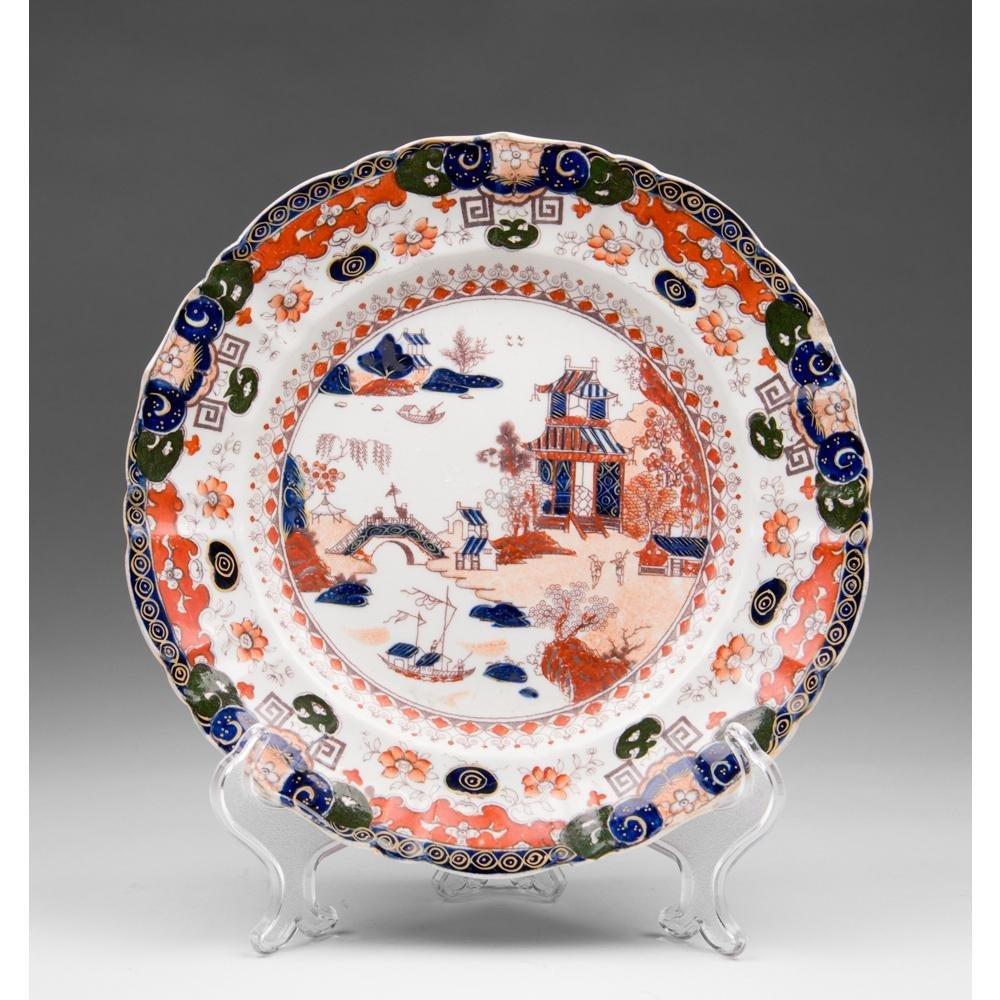 19th C. Masons Ironstone Imari Plate