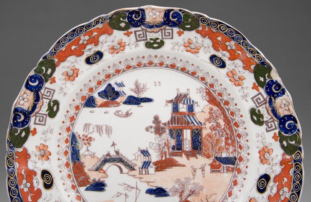 19th C. Masons Ironstone Imari Plate - 2