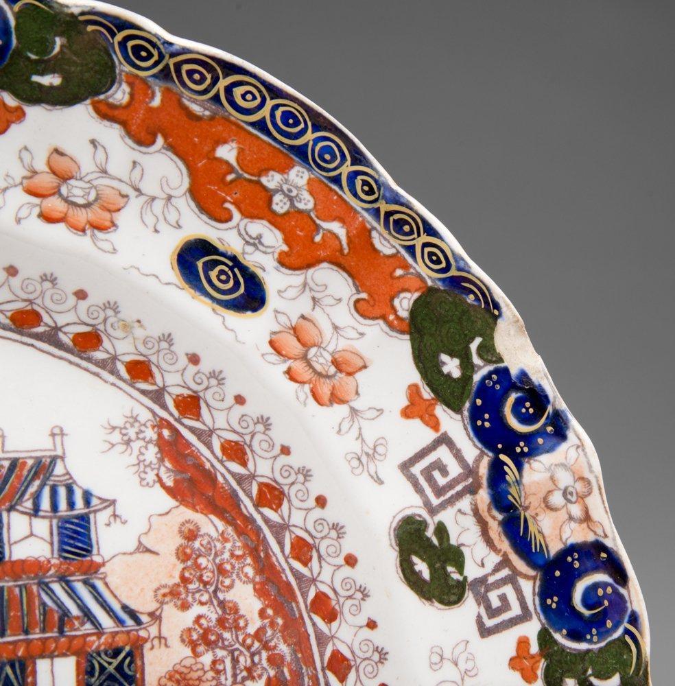 19th C. Masons Ironstone Imari Plate - 3
