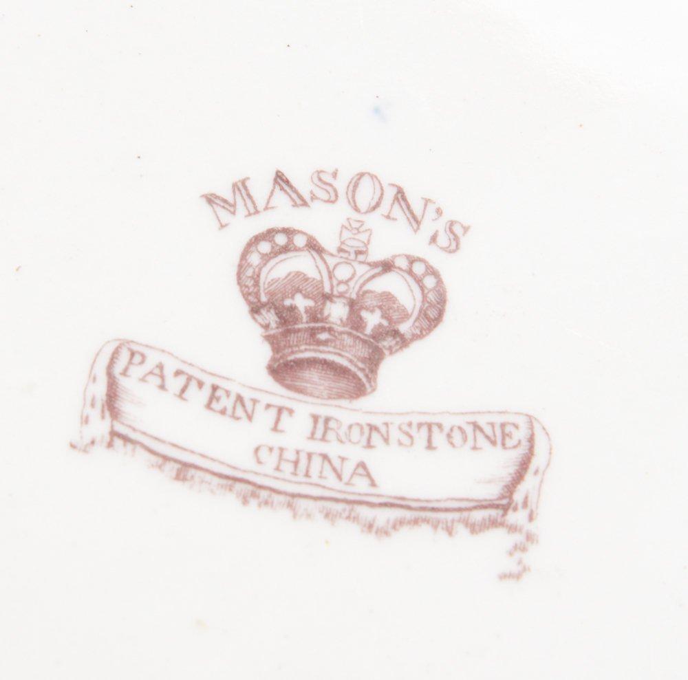 19th C. Masons Ironstone Imari Plate - 5