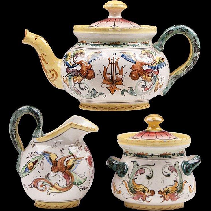 Fratelli Fanciullacci 3 Pc. Tea Set