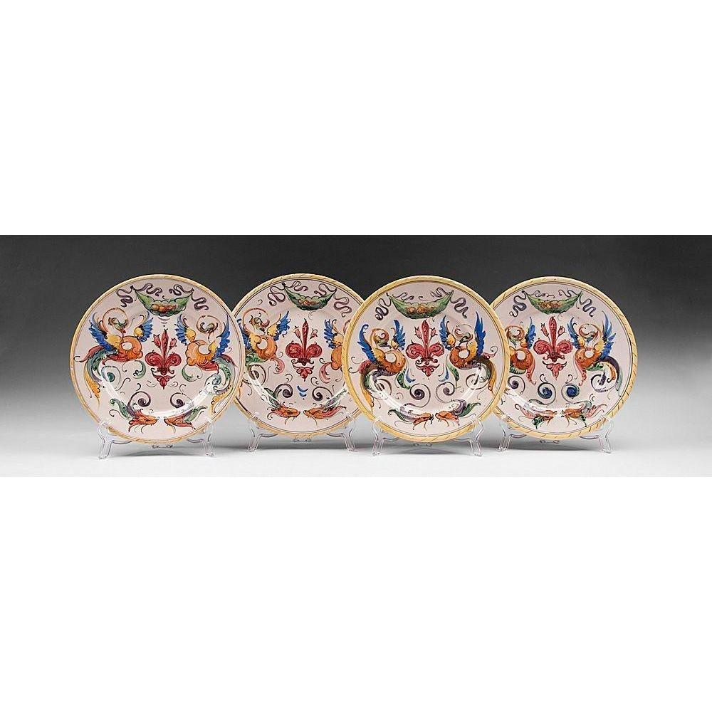 4 Fratelli Fanciullacci Italian Pottery Bowls