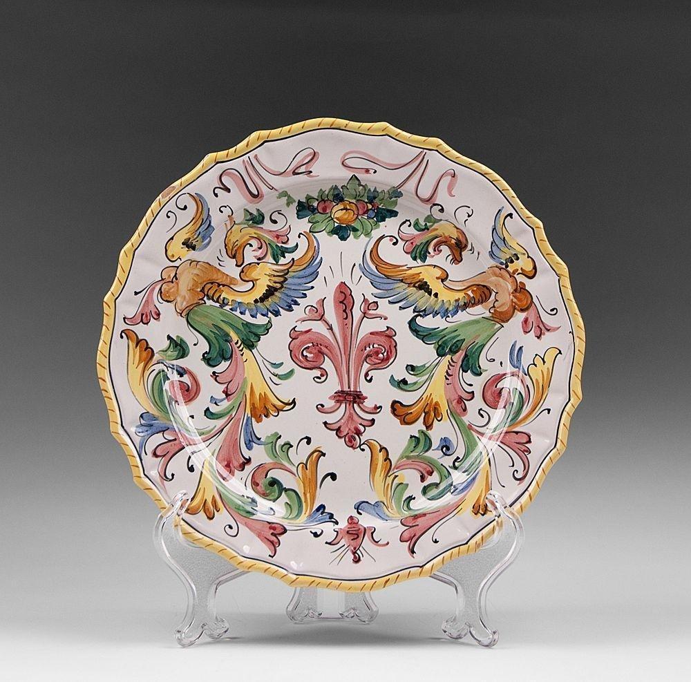 5 Fratelli Fanciullacci Italian Pottery Dinner Plates