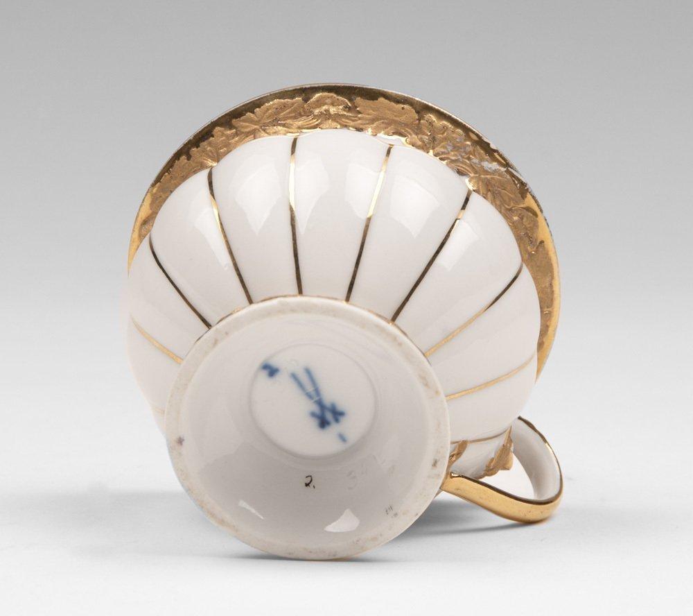 Meissen Cup & Saucer, Golden Baroque - 2