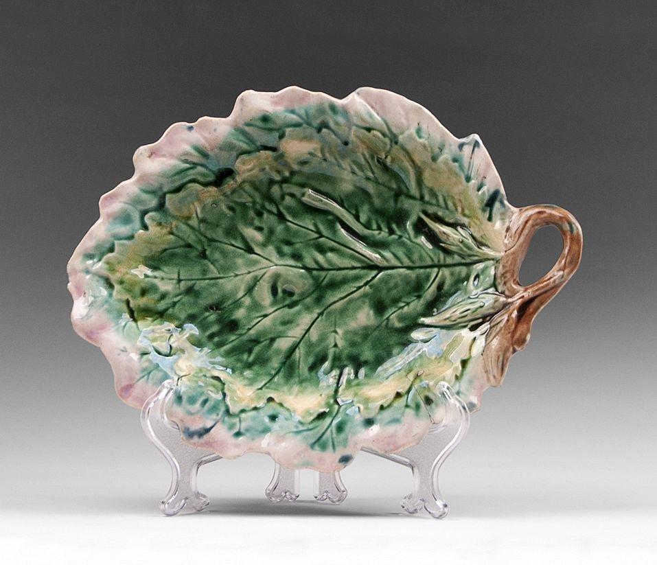 Griffin Smith Etruscan Leaf Dish