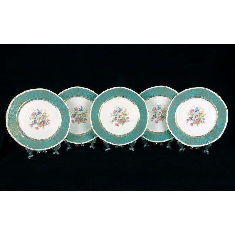 5 Royal Bayreuth Dinner Plates