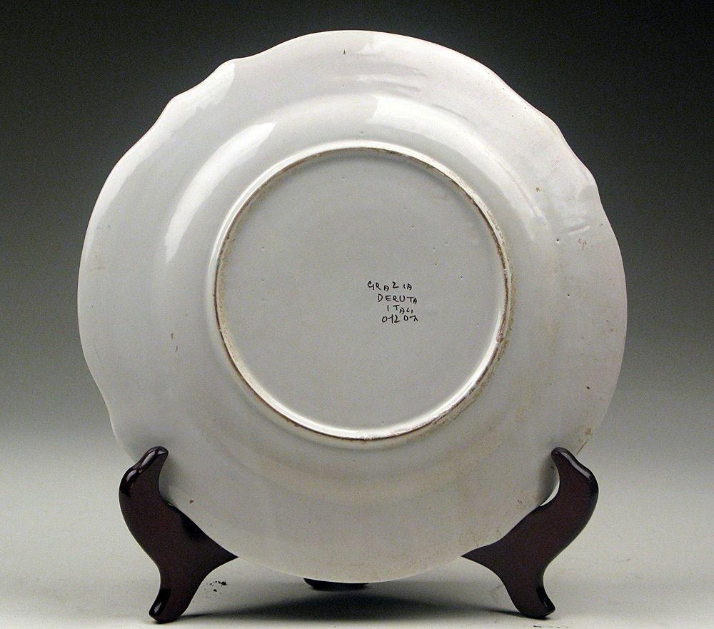 Ubaldo Gazia Majolica Dinner Plate - 2