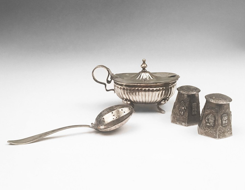 Collection of Silver and Sterling Silver Items