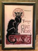Tournee Du Chat Noir Poster, Cat