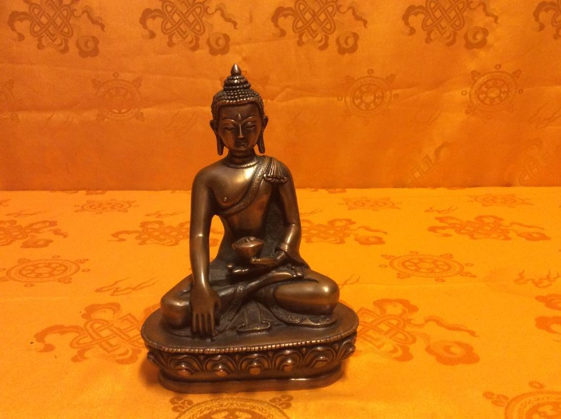 Tibetan Buddha Statue.