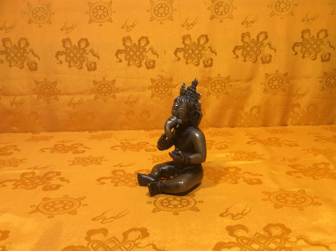 Vintage Baby Ganesh Figure. - 2