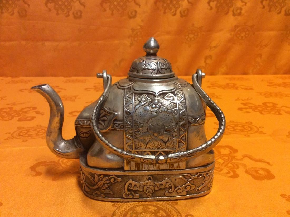 Vintage Oriental Tea Pot.