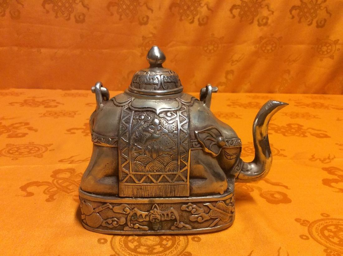 Vintage Oriental Tea Pot. - 2