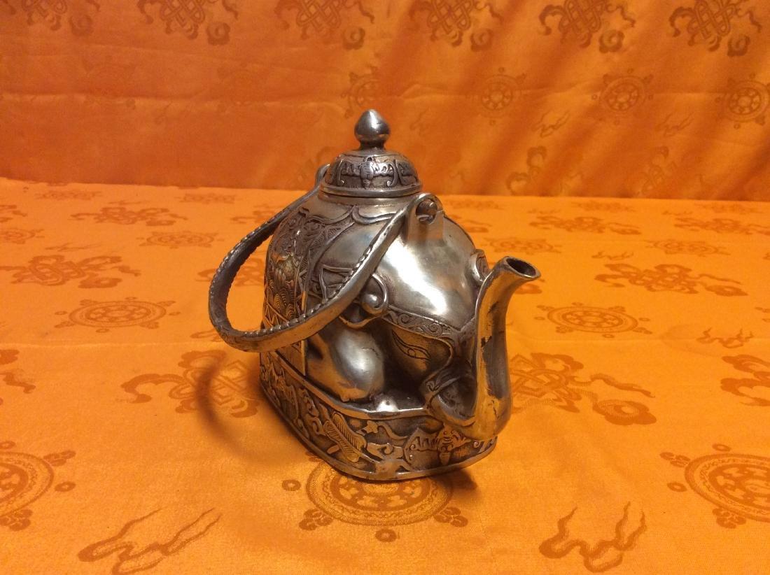 Vintage Oriental Tea Pot. - 3