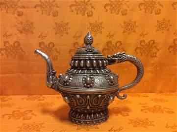 Old Tibetan Tea Kettle.