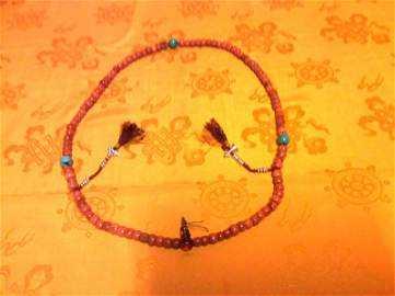 Tibetan Prayer Beads.