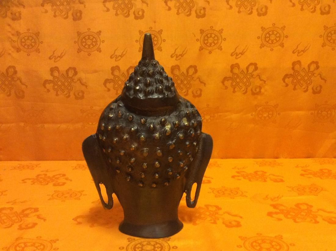 Buddha Head Sculpture. - 3