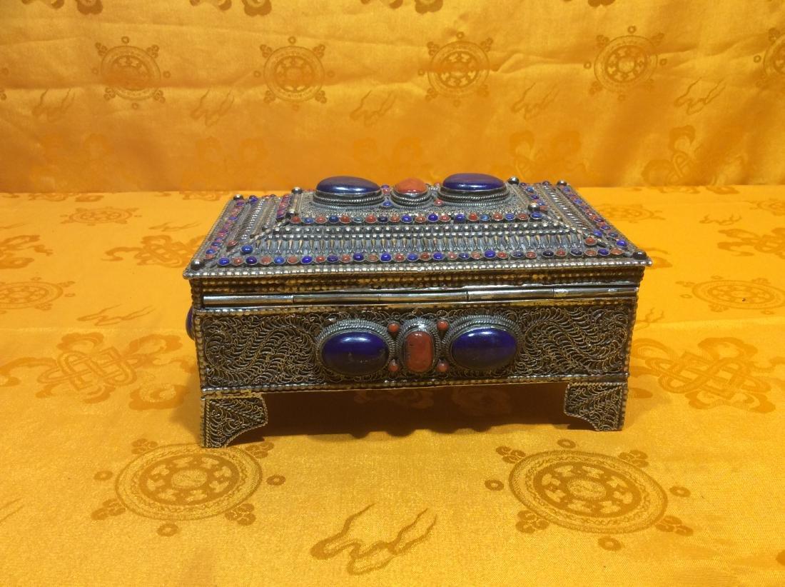 Tibetan Jewelry Box.