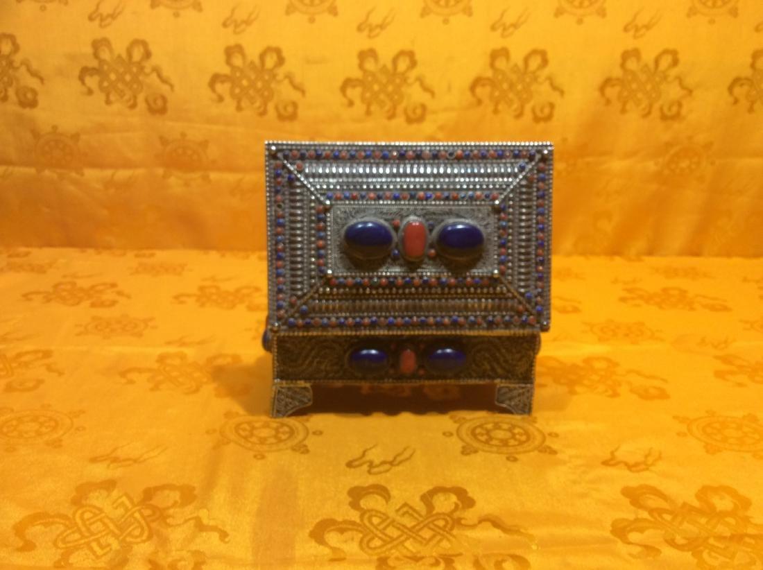 Tibetan Jewelry Box. - 2
