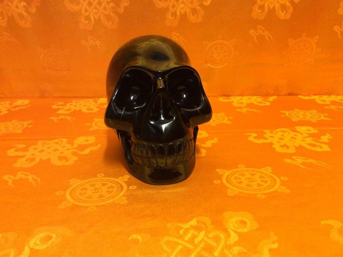 Giant Obsidian Skull.