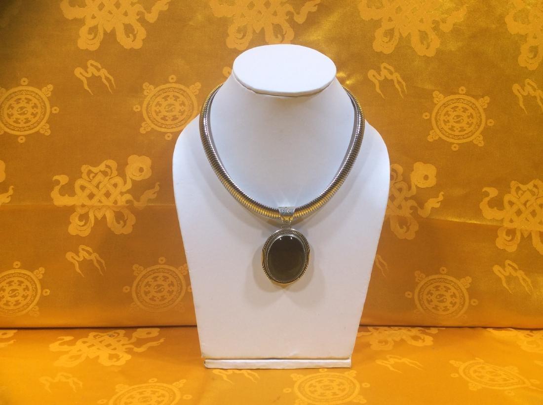 Sterling Silver Pendant.