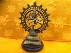 Vintage Shiva Dancing.