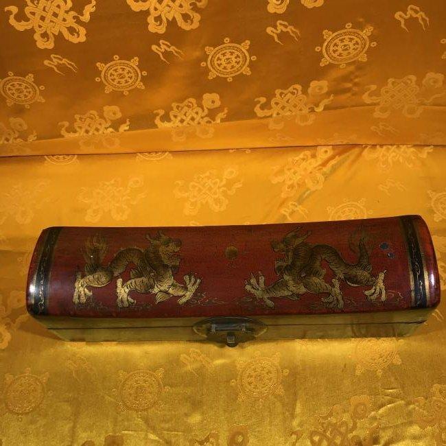 Vintage Wooden Jewelry Box.