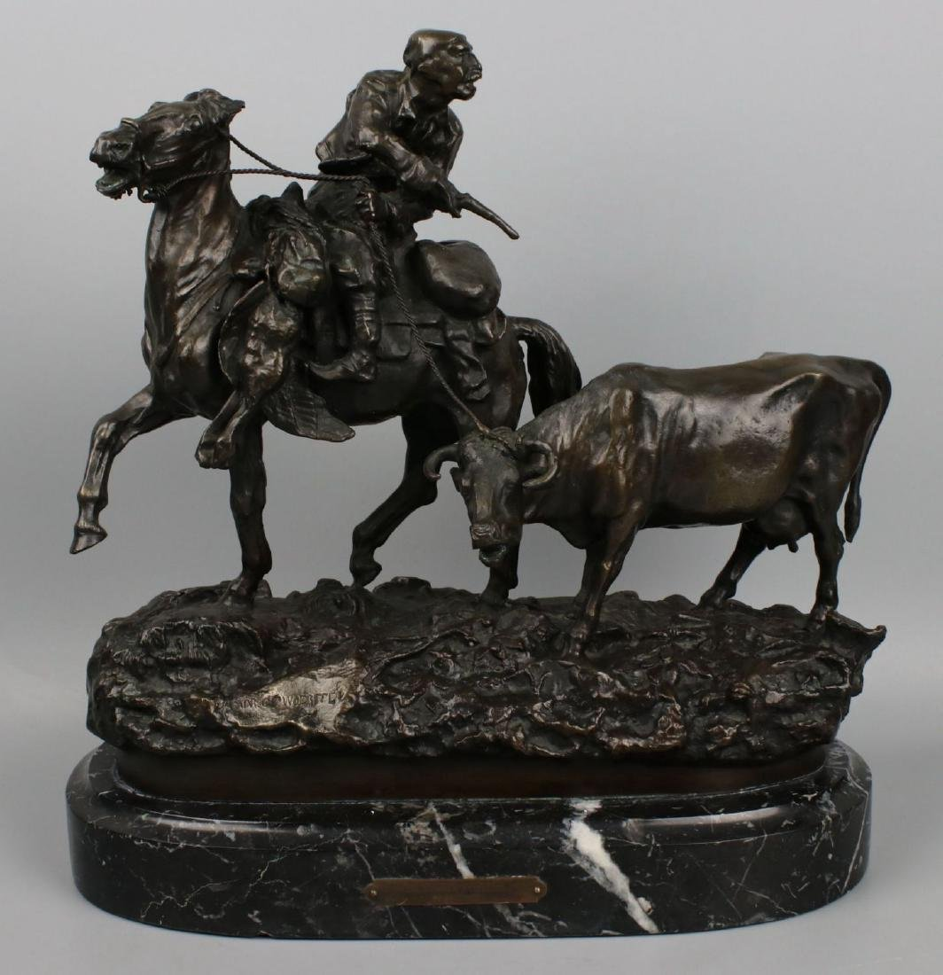 "Vasily Grachev (Russian 1831-1905) Bronze ""Ukrainian"