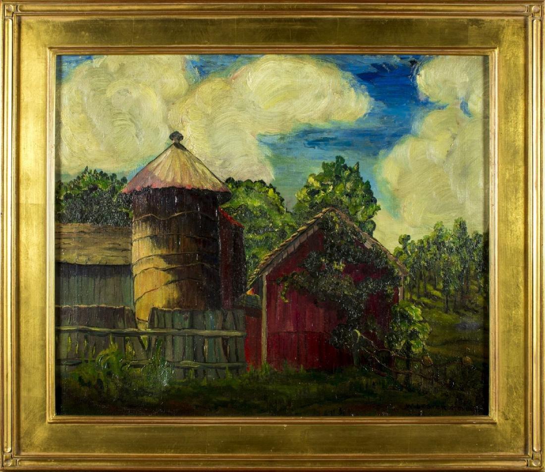 William Lester Stevens (american, 1888 - 1969) oil on