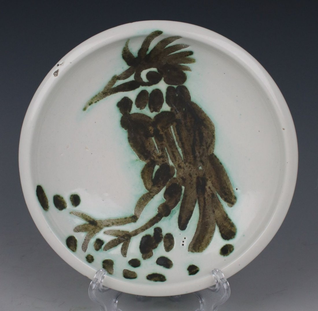 "After Pablo Picasso Plate ""Bird with Tuft"""
