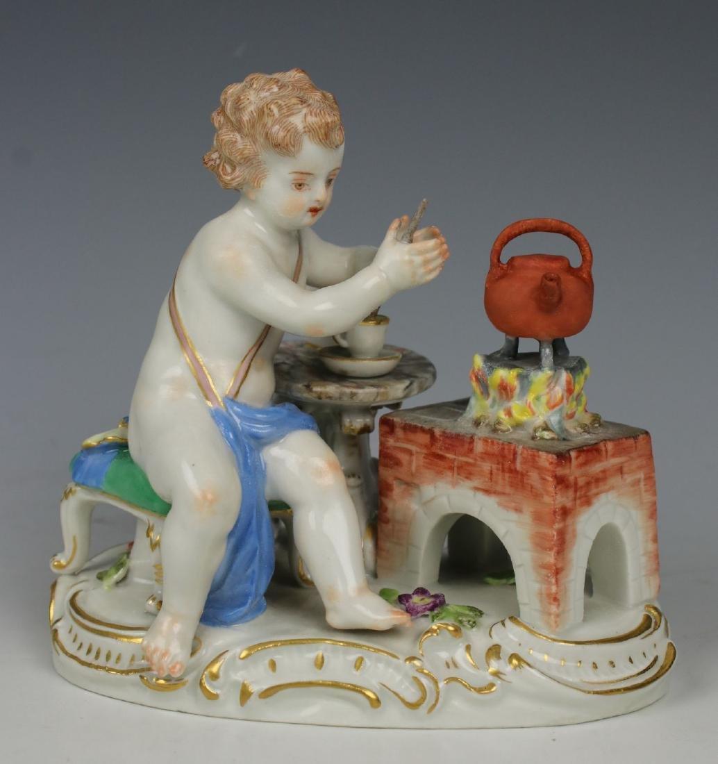 """Meissen Kaendler Figurine """"Fire"""""""