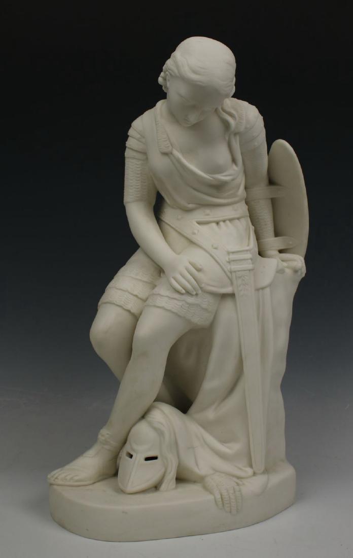 "Minton John Bell Figurine ""Clorinda"""