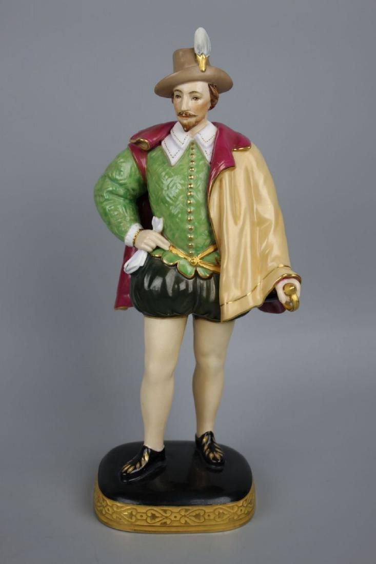 "Royal Worcester figurine ""Sir Walter Raleigh"""