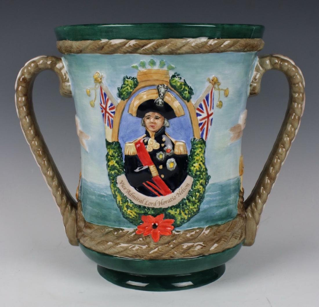 "Royal Doulton Loving Cup ""The Nelson"" LE"