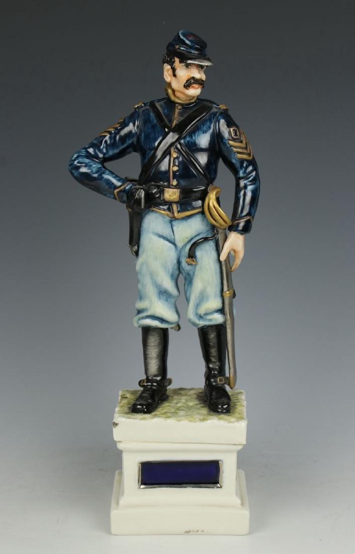 Capodimonte Guido Cacciapuoti Figurine Soldier